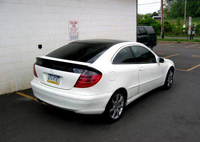 Mercedes C230 -20% Tint